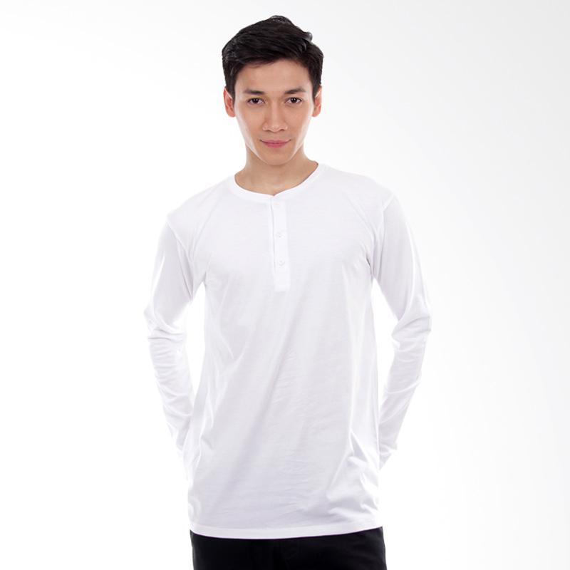 Word.o Basic Lengan Panjang T-shirt - Putih Extra diskon 7% setiap hari Extra diskon 5% setiap hari Citibank – lebih hemat 10%