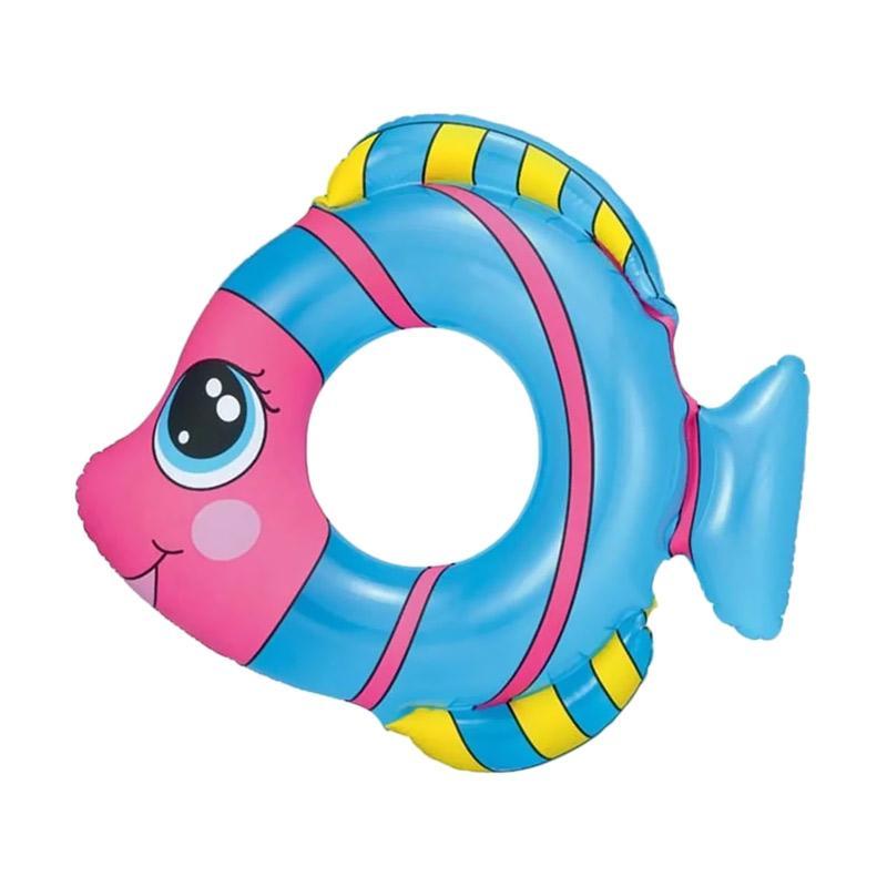 Bestway Friendly Fish Swim Ring Pelampung Anak - Biru