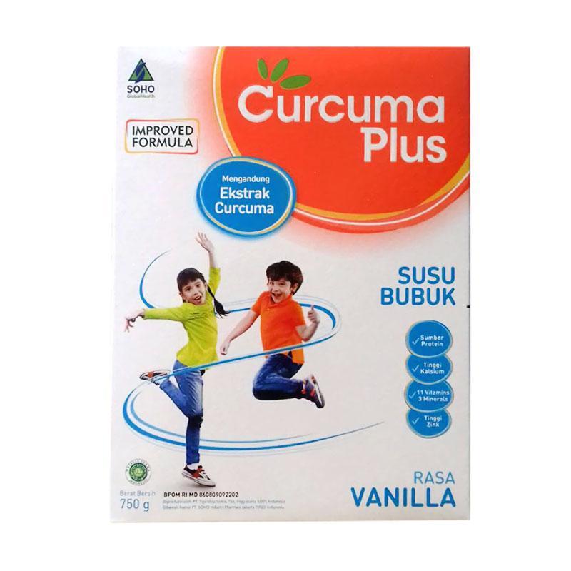 Curcuma Plus Susu Bubuk Rasa Vanila [750 g]