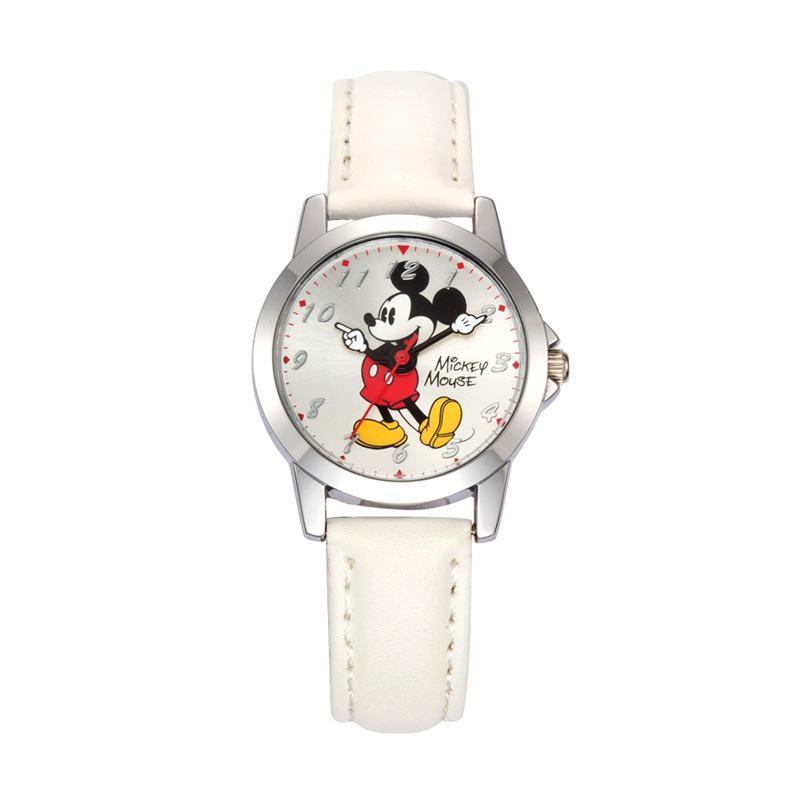 Disney MS14058-W Mickey Jam Tangan Anak - Putih