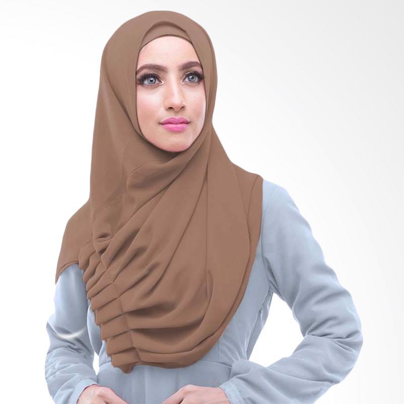 Kus_group Alya Hijab Instant - Coklat