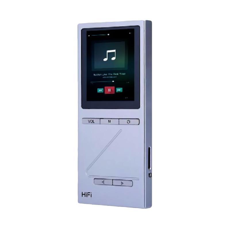 harga ONN X5 MP3 HiFi Digital Audio Player - Silver [8 GB] Blibli.com