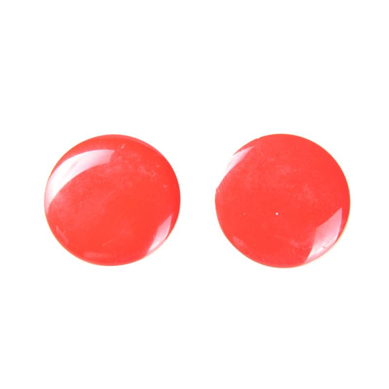 1901 Jewelry G0190015.GW22RD Odella Clip Anting - Red