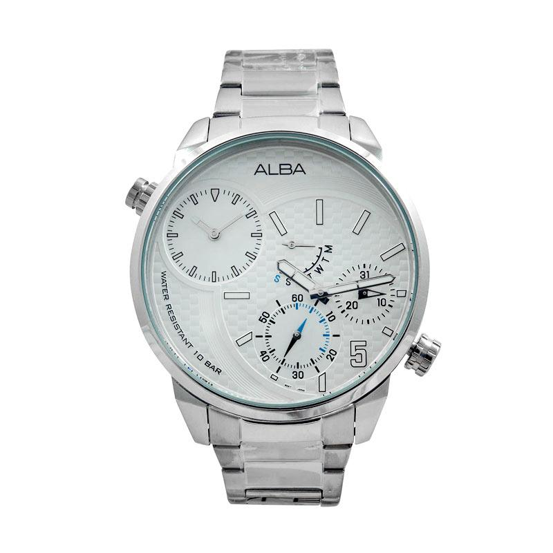 ALBA A2A005 Stainless Steel Jam Tangan Pria