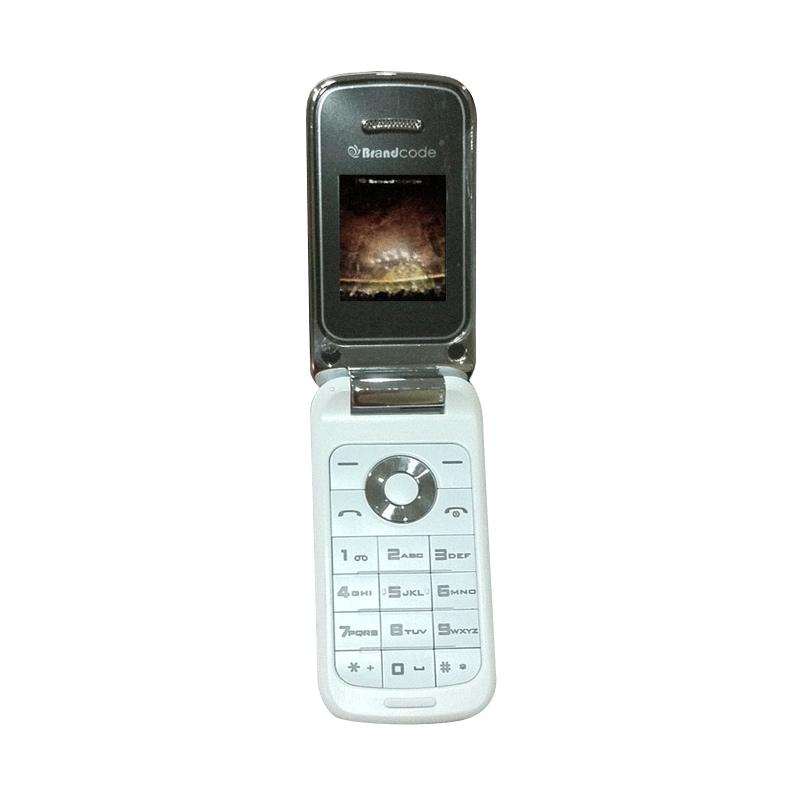 Brandcode COD 989 Handphone - Putih [Dual SIM]