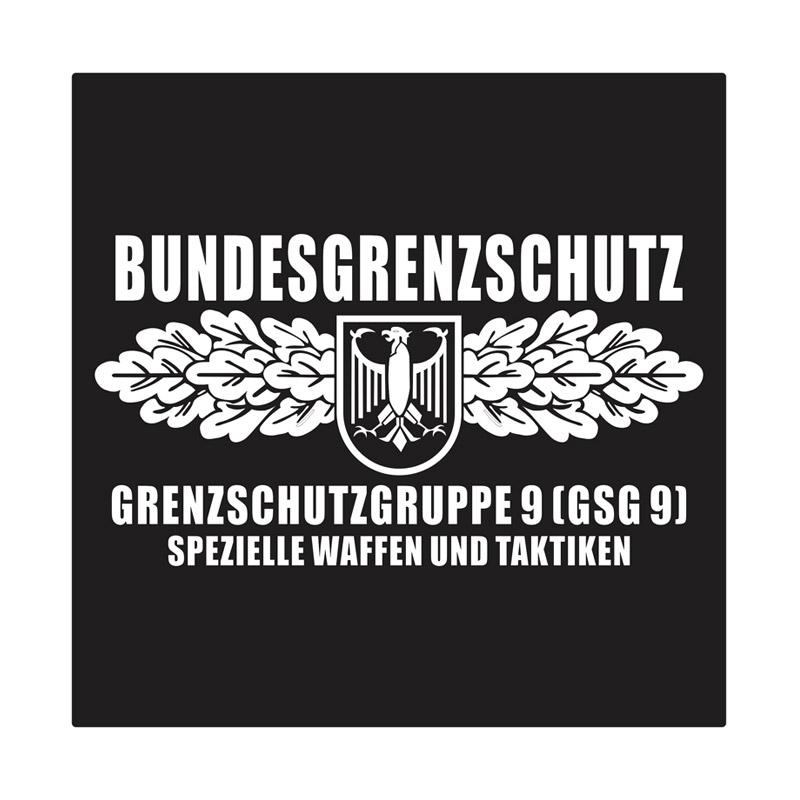 Kyle GSG 9 Germany Special Force Cutting Sticker