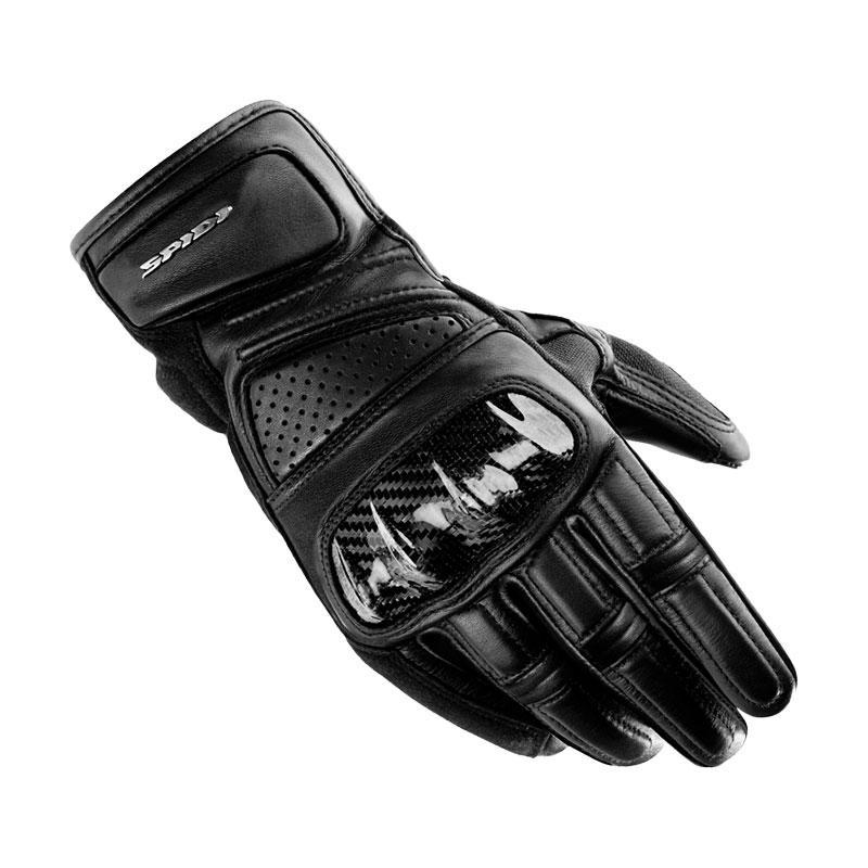 Spidi Hangar Sarung Tangan Full Finger - Black
