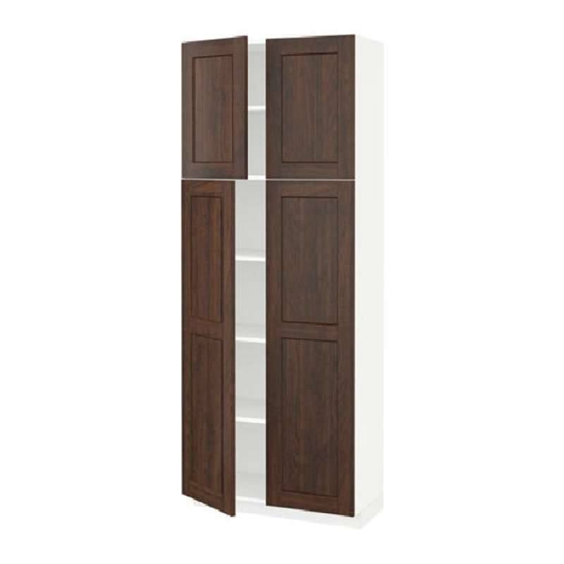 Jual Kabinet Tinggi Dg Rak 4 Pintu Putih Edserum Cokelat Online Maret 2021 Blibli