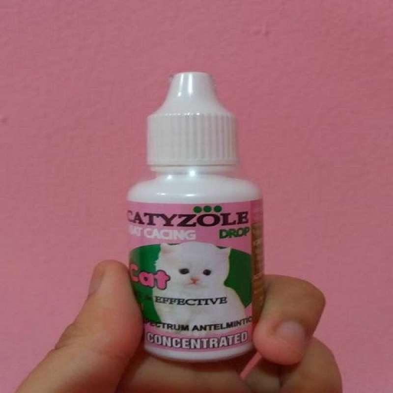 Catyzole Drop 30ml Obat Cacing Kucing Obat Cacing Untuk Kucing
