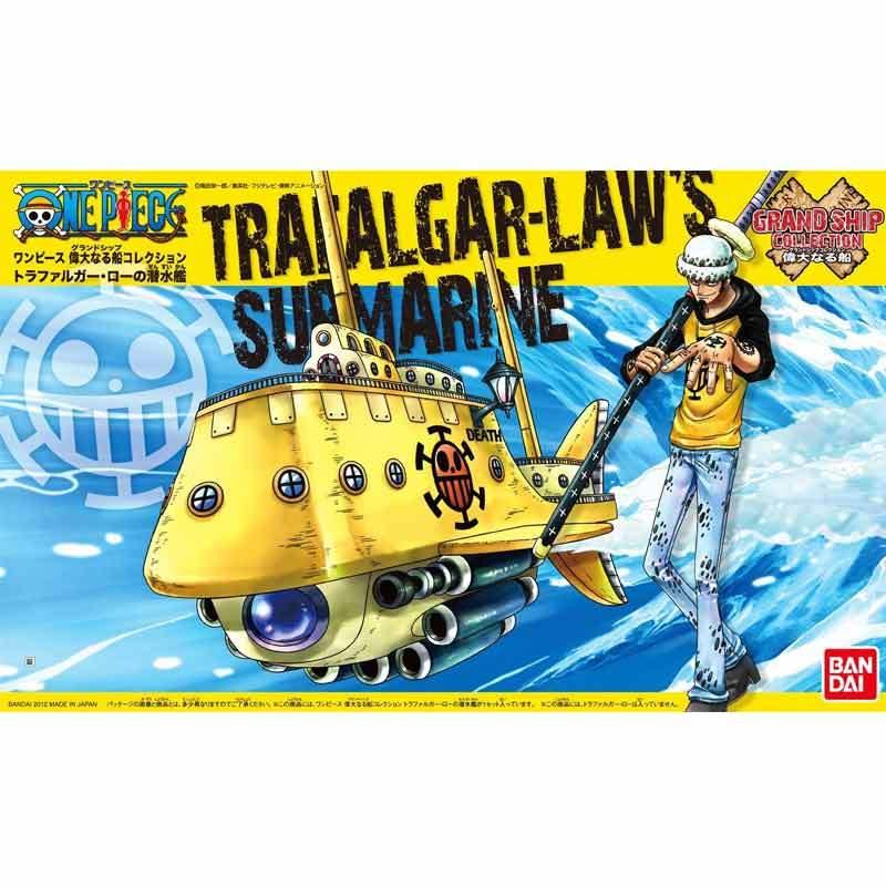 Bandai Grand Ship Collecion Trafalgar Law's Submarine Model Kit