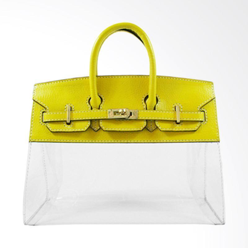harga De Cheval 25 Birkin Clear Hand Bag - Lime Blibli.com
