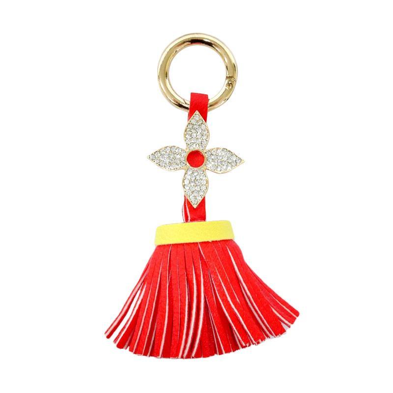 SIV Diamond 01 Key Chain Gantungan Kunci - Red [KDL03]