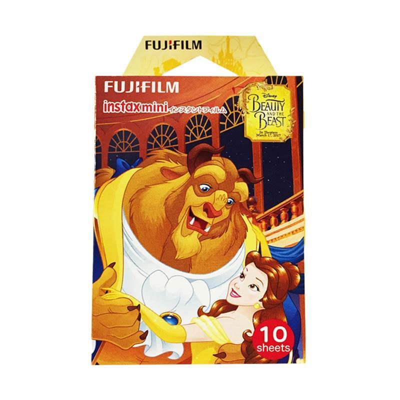Fujifilm Beauty and the Beast Film Refill Instax Mini Kamera Polaroid [10 Lembar]
