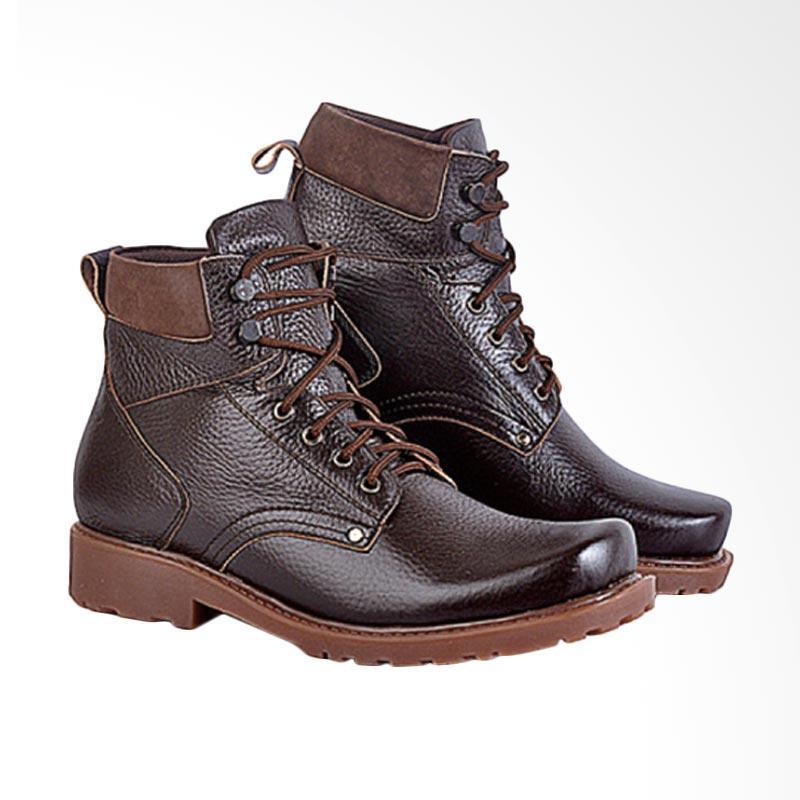 harga Azzura Casual Sepatu Boots Pria 627-05 Blibli.com