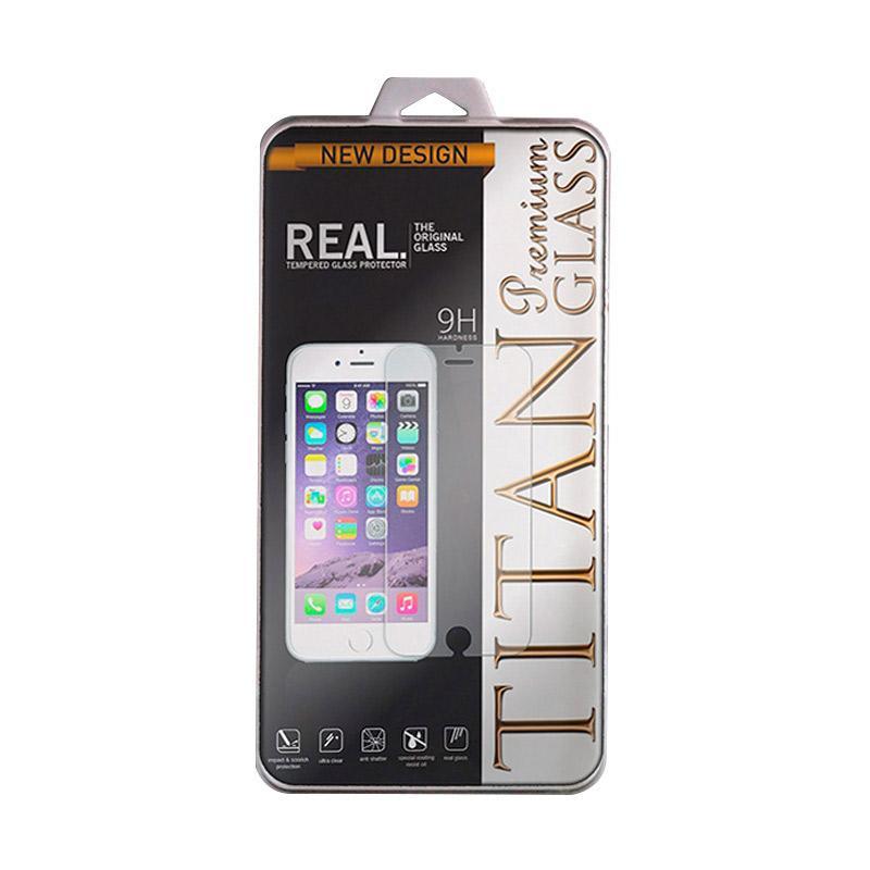 Spek Harga Titan Premium Tempered Glass Screen Protector for Vivo Y55 - Clear [2.5D