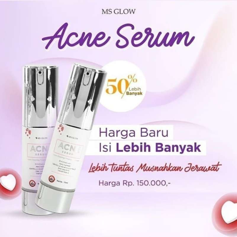 Ms Glow Acne Serum Serum Acne