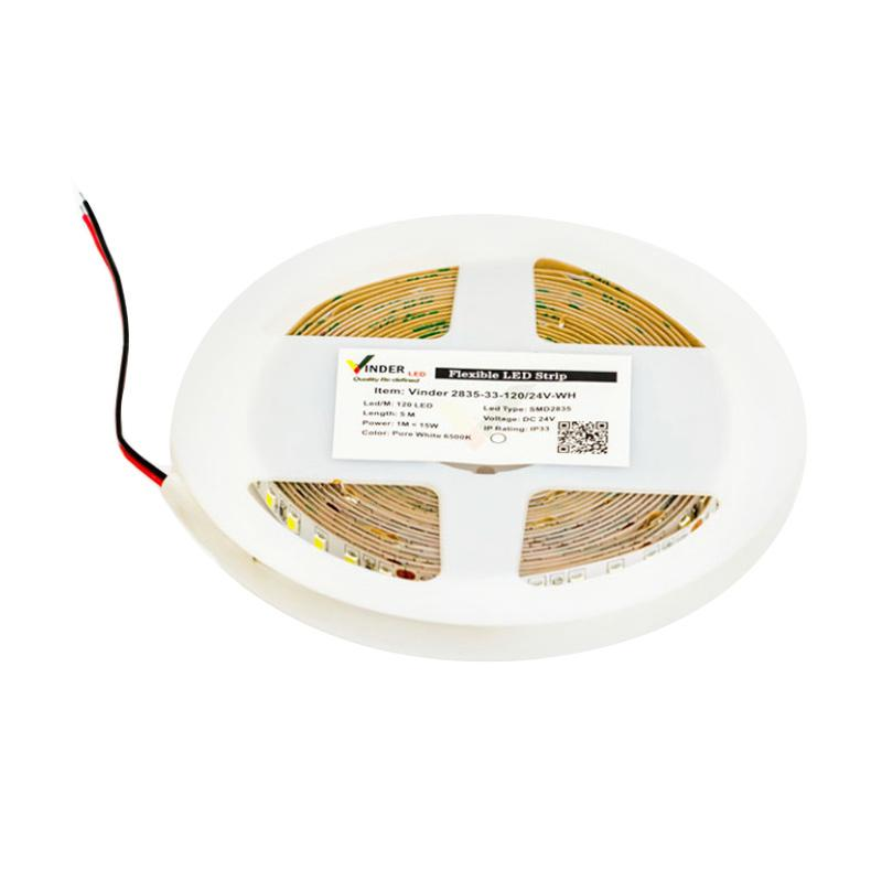 Vinder SMD2835-600 Indoor Super Bright LED Strip - White [24V DC]