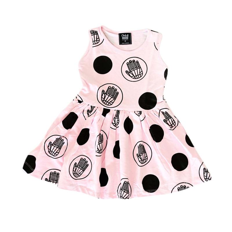 Childhood Apparel Stop Dress Anak - Pink