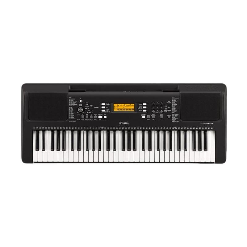 harga Yamaha PSR 363 Keyboard - Black Metalic Blibli.com