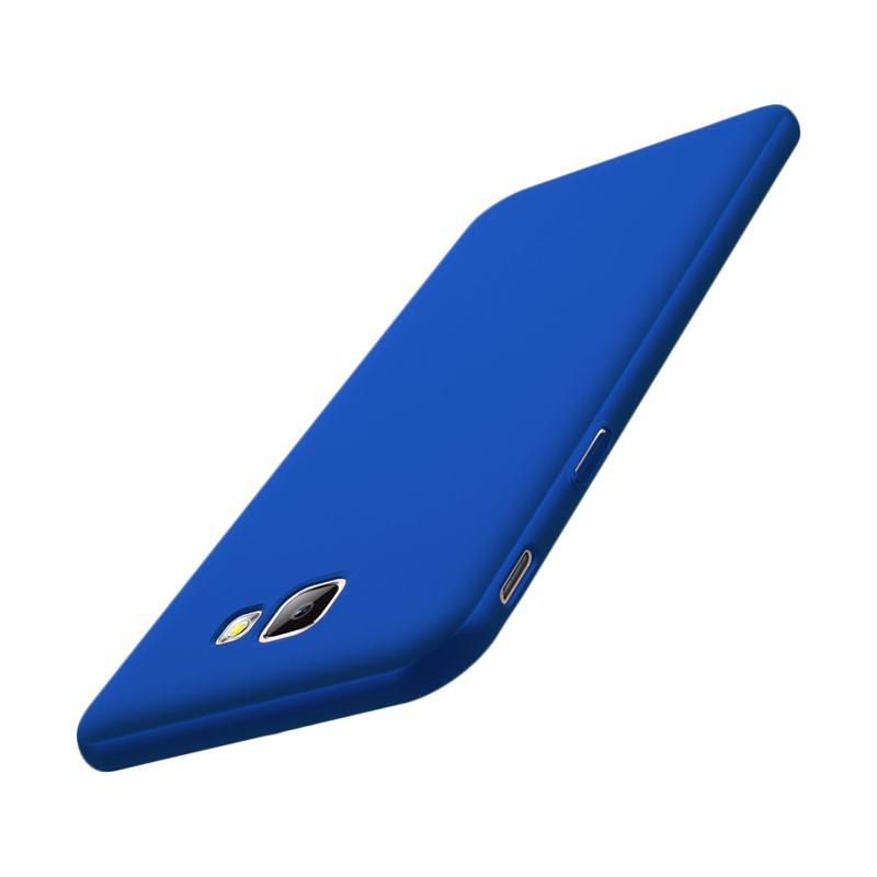 WEIKA Baby Skin Ultra Thin Hardcase Casing for Samsung Galaxy On 7 2016 or J7 Prime - Blue