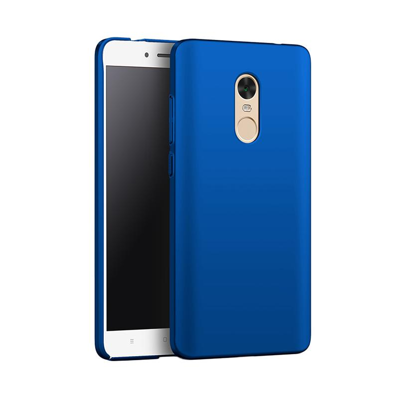 WEIKA Baby Skin Ultra Thin Hardcase Casing for Xiaomi Redmi Note 4x - Blue