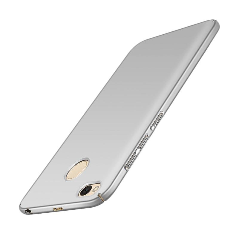 WEIKA Baby Skin Ultra Thin Hardcase Casing for Xiaomi Redmi 4x - Silver Silver