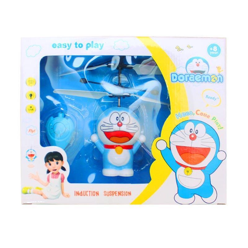 Istana Kado IKO00814 Mini Doraemon Mainan Helikopter