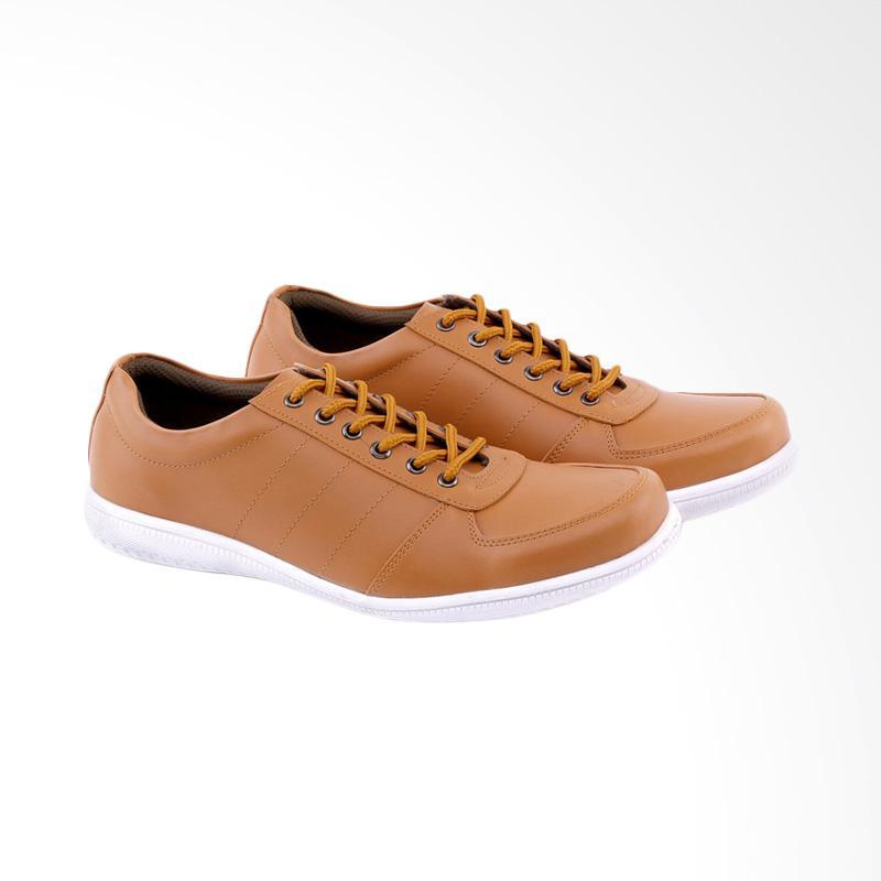 Garucci GSY 1257 Sneakers Shoes Sepatu Wanita - Tan