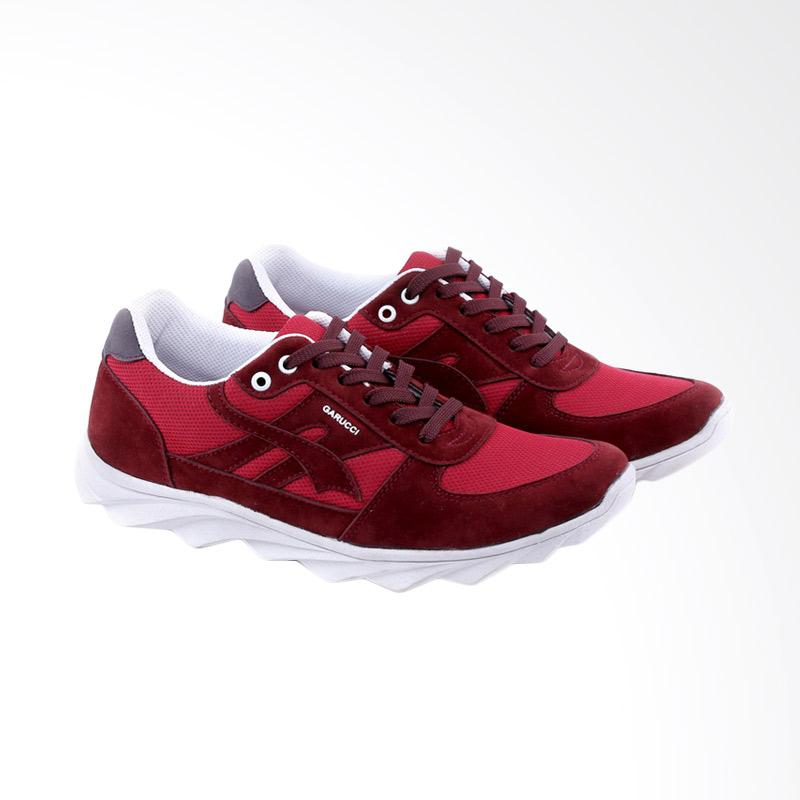 Garucci Sneakers Shoes Pria - Red GOP 1228