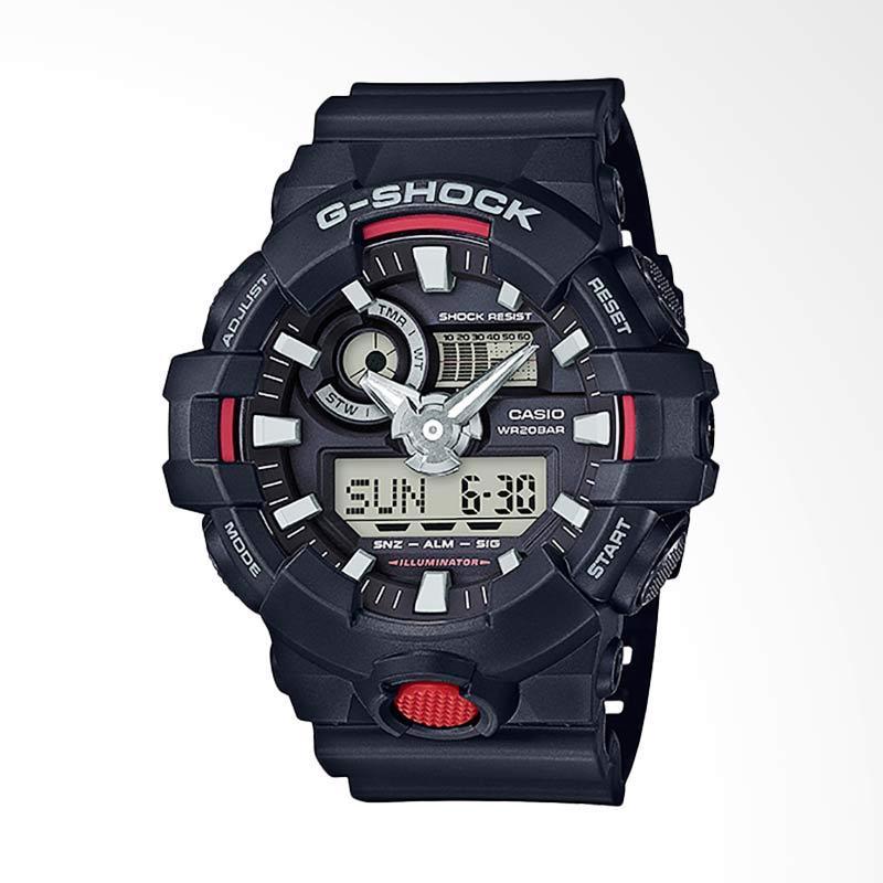 CASIO G-Shock Jam Tangan Pria - Black GA-700-1AJF