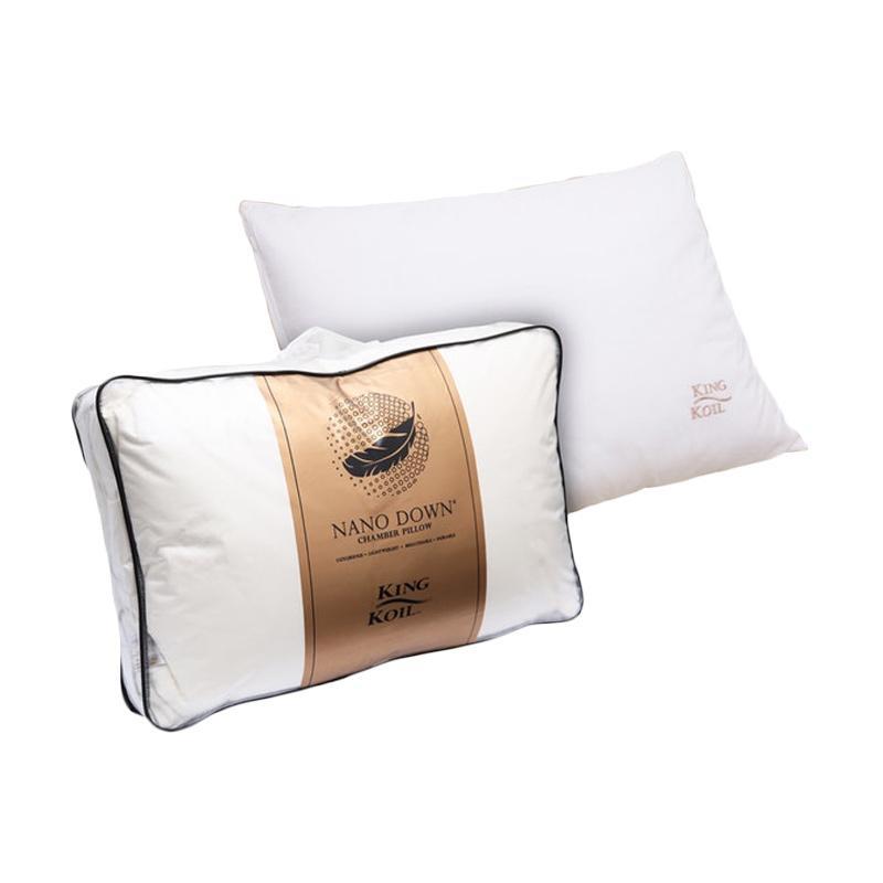 King Koil Nano Down Chamber Pillow Bantal - White