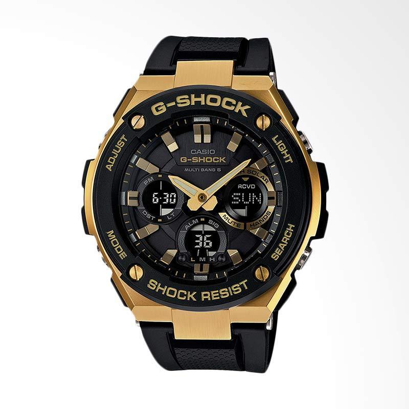 CASIO G-Shock Jam Tangan Pria - Black Gold GST-W100G-1AJF