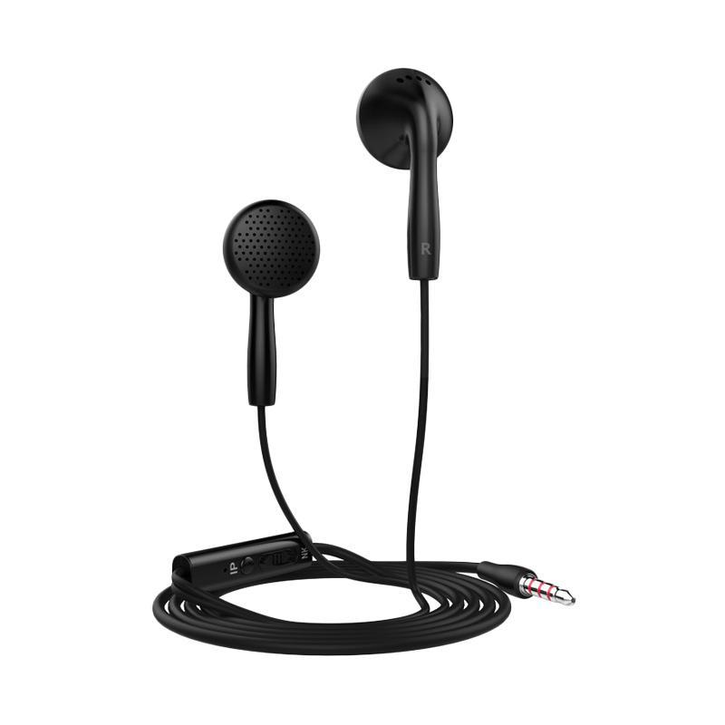 Langsdom Earphone In2 With Microphone - Black