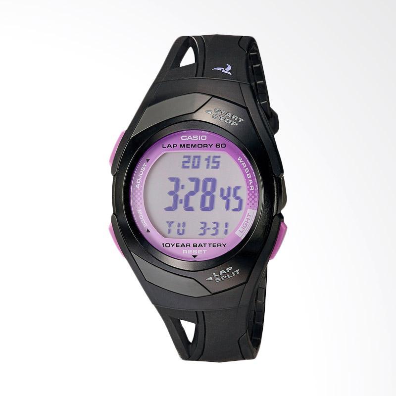 Casio Women's STR300-1C Runner Eco Friendly Digital Watch Jam Tangan Wanita