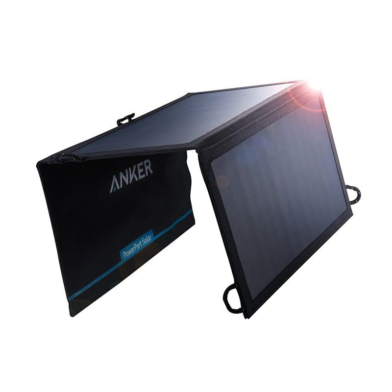 Anker USB Solar Charger [21 W/ 2-Port PowerPort]