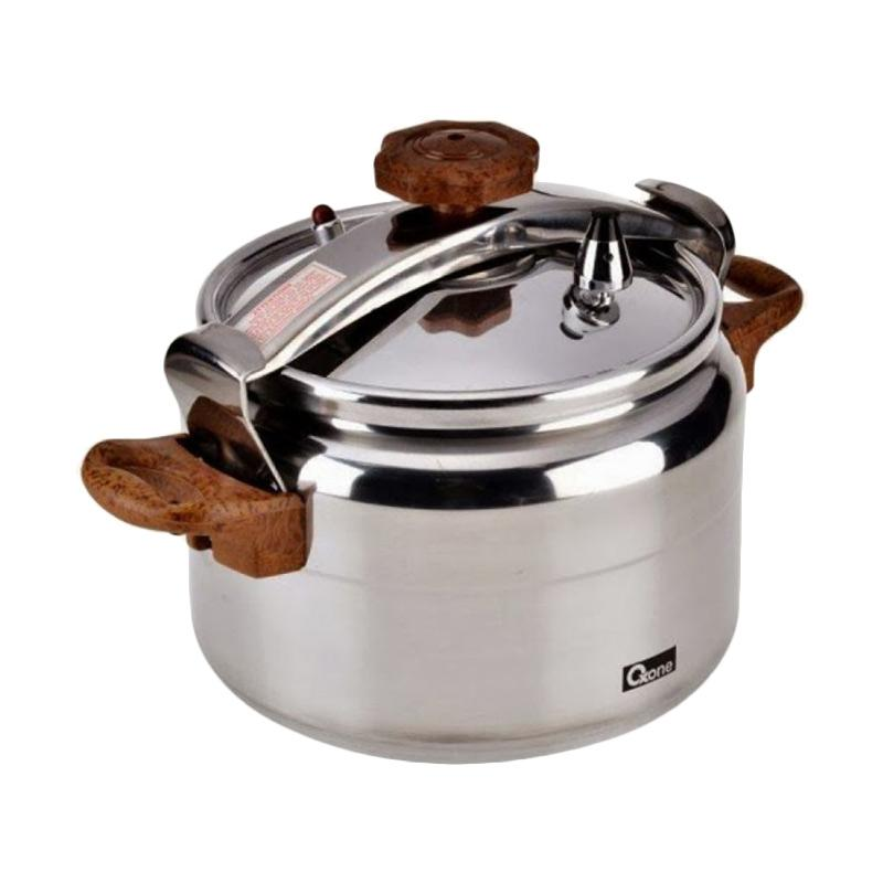Oxone OX-2012 Aluminium Panci Presto Alupress Pressure Cooker 12Liter