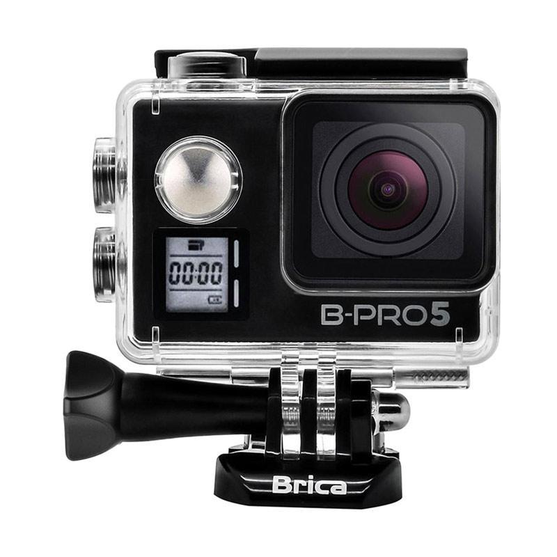 Brica B-Pro 5 Alpha Edition Mark IIs AE2s Combo 3 Way Berrisom Action Camera - Hitam
