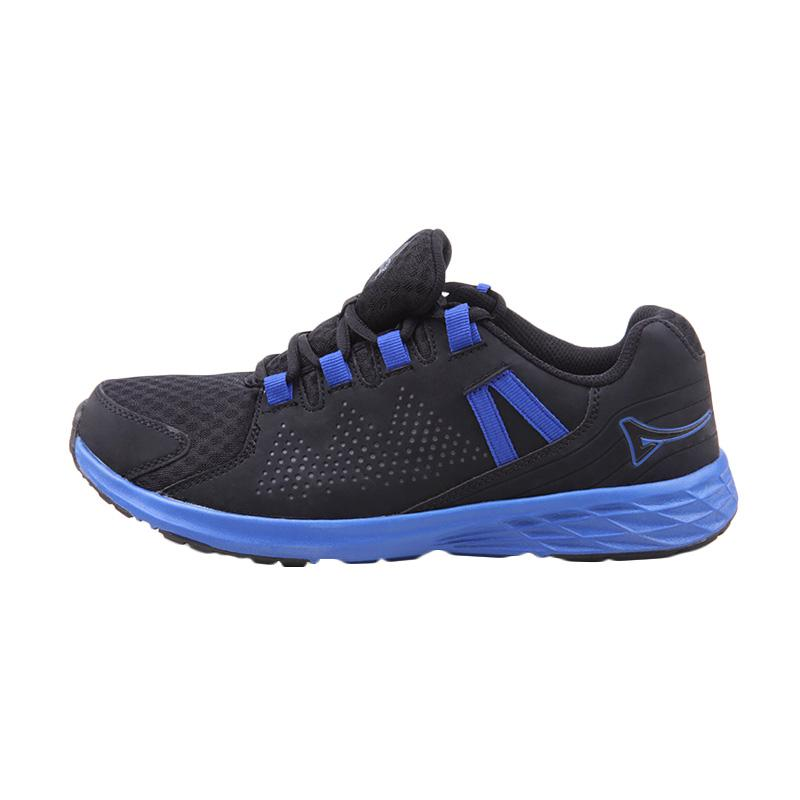 Ardiles Men Malovic Sepatu Lari Pria - Black Blue