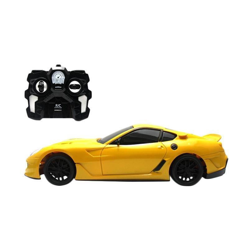 TLP RC Muscle Racing Car Mainan Remote Control - Yellow