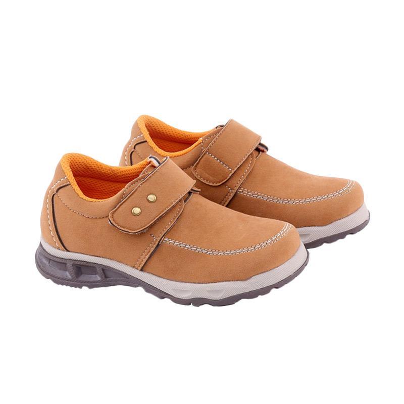Garucci GUH 9088 Sepatu Kasual Anak Laki-Laki - Tan