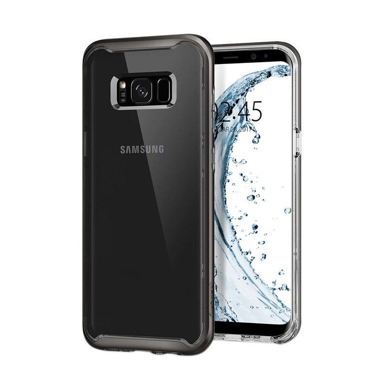 Spigen Neo Hybrid Crystal Casing for Samsung Galaxy S8 2017 - Gunmetal