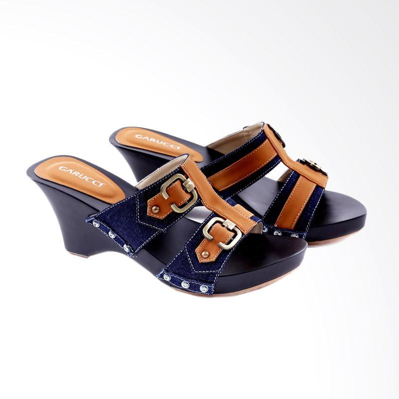 Garucci GKI 085 Sandal Heels Wanita - Blue