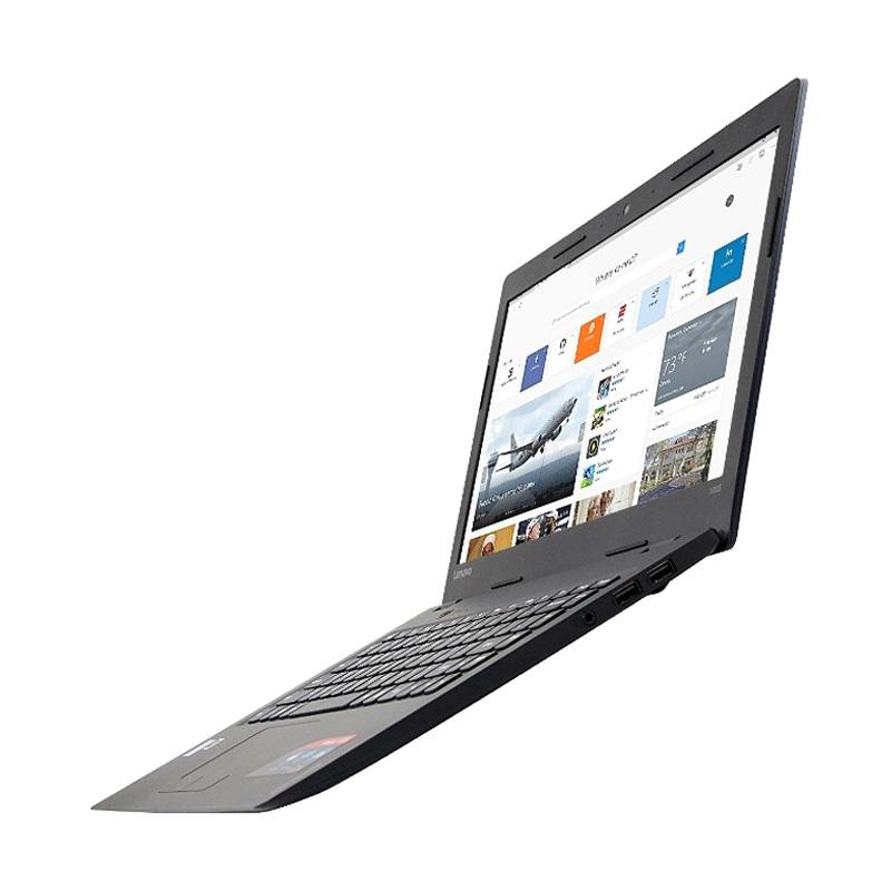 Lenovo SLIM 100S-14IBR Notebook - Blue [Dual Core N3060/2GB/EMMC 32GB/Win10/14 Inch]