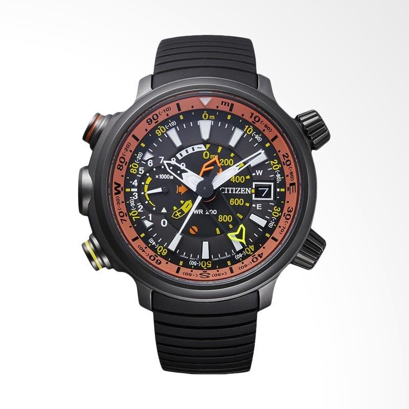 Citizen Eco-Drive Promaster Metric Altichron Black IP Titanium Jam Tangan Pria BN4026-09F