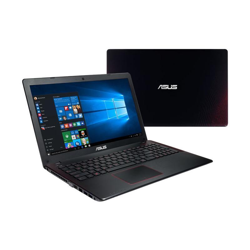 Asus X550VX-DM701 Notebook GAMING - Black Red [Core i7-7700 / 1 TB HDD / RAM 8 GB/ 15.6 Inch / NVidia GTX950 2GB / DOS / DVDRW ] + PACKING KAYU