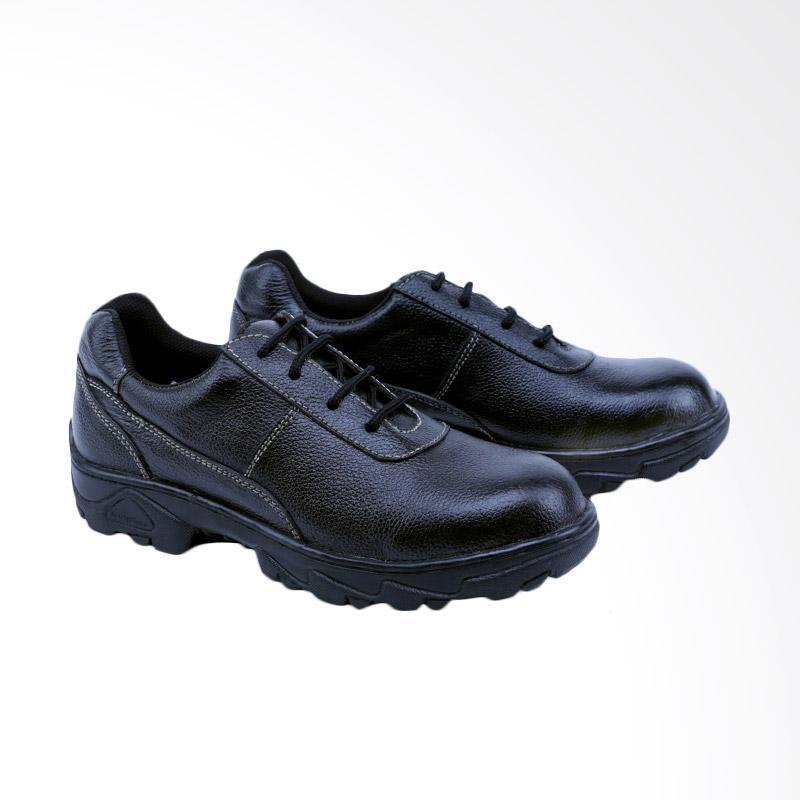 Garsel Sepatu Boots Pria - Hitam GRN 2504
