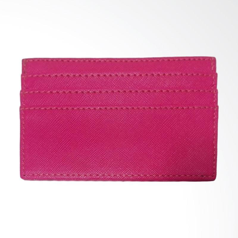 Garuda Shop Dompet Kartu Nama ATM KTP Card Holder Mini - Pink