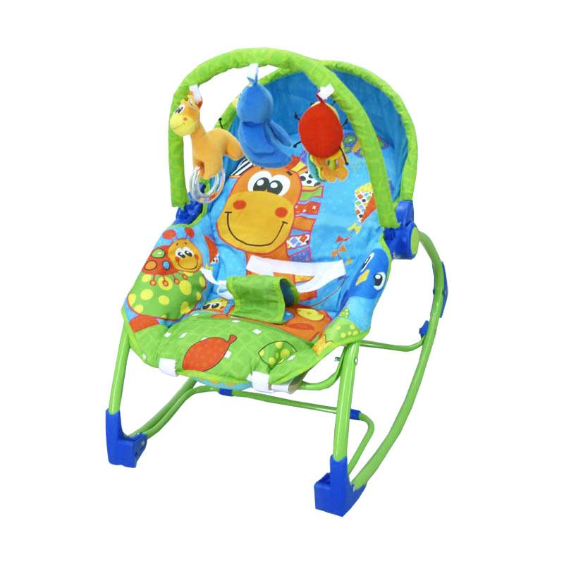 Pliko Rocking Chair Hammock 3 Phase - Giraffe