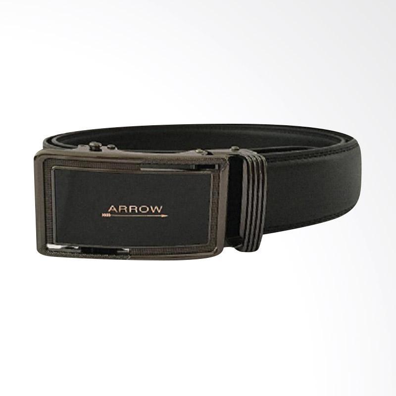 Arrow Leather Belt Ikat Pinggang Pria - Hitam [BP-AR2124SRA26-37A180-038SR]