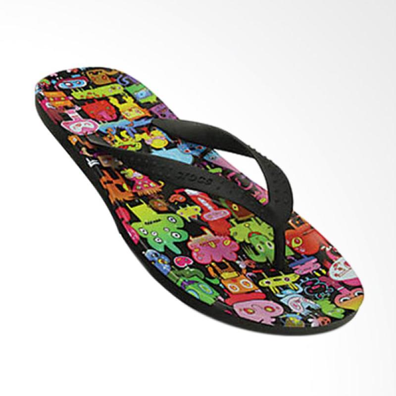 Crocs CR20197 Hawaii Burger Flip Unisex Sandal Jepit